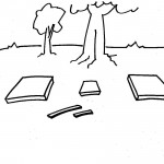 Low Ropes Element - The Islands Drawing