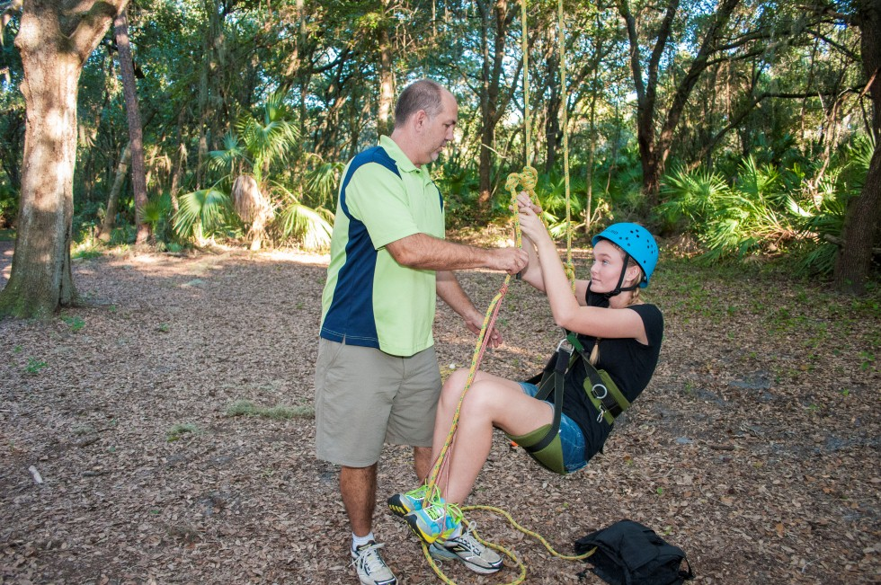 Recreational Tree Climbing Training Session