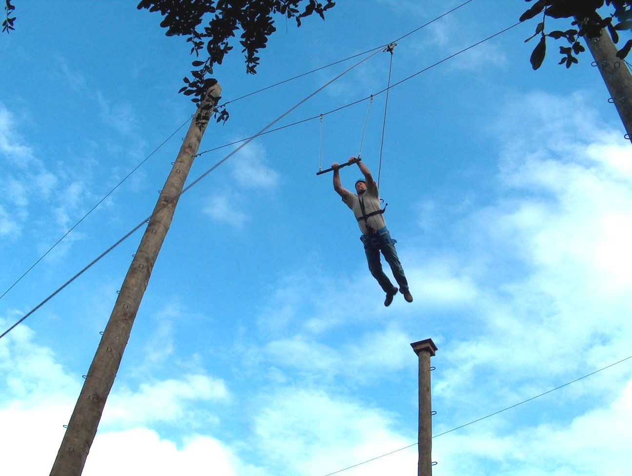 High Ropes Adventure Camp Leap of Faith